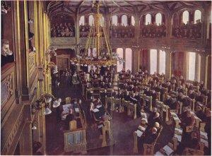Stortingets møte 7.juni 1905